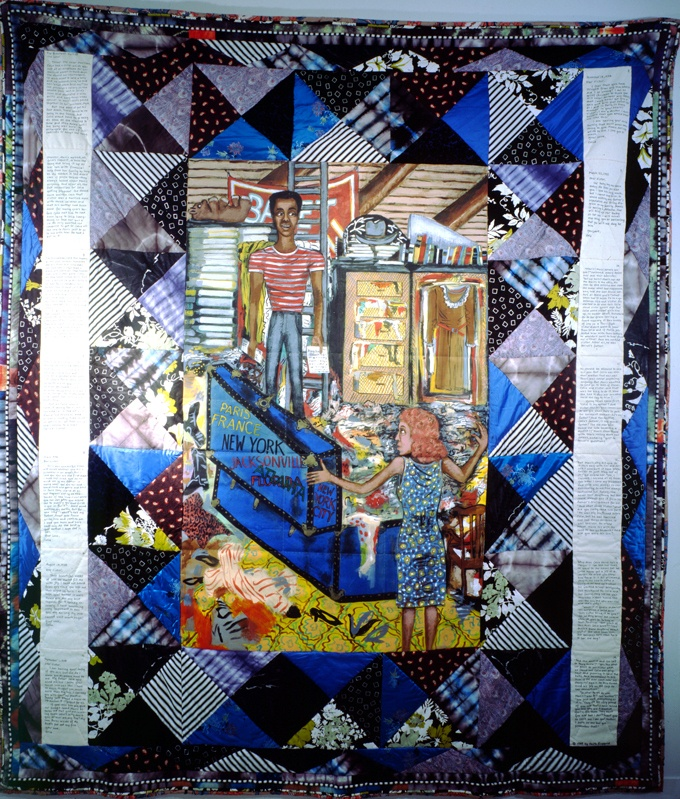 Bitternest_#4_The_Letter Faith Ringgold